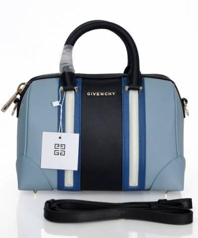 Сумка Givenchy Black and Blue Lucrezia Bag