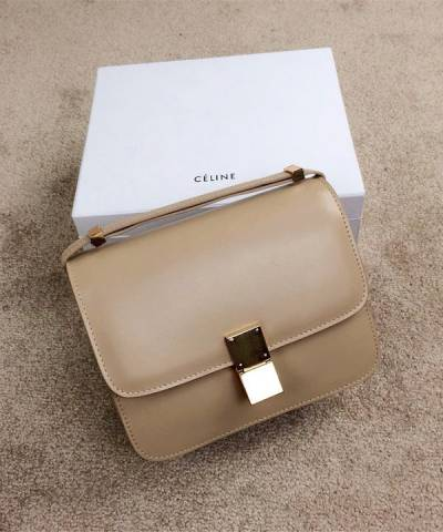 Сумка Celine Classic Box Shoulder Bag Coffee