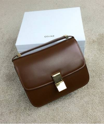 Сумка Celine Classic Box Shoulder Bag Brown