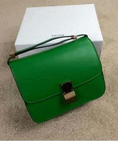 Сумка Celine Classic Box Shoulder Bag Green