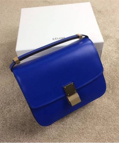 Сумка Celine Classic Box Shoulder Bag Blue