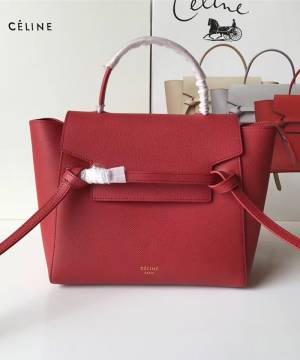Сумка Celine Belt Bag Red