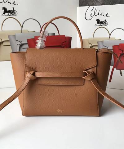 Сумка Celine Belt Bag Brown