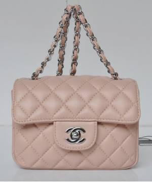 Сумка Шанель Mini Flap Pink
