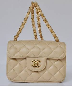 Сумка Шанель Mini Flap Beige