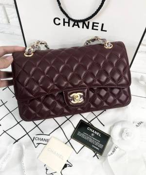 Сумка Chanel Classic Flap Bag Claret