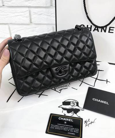 Сумка Шанель Classic Flap So Black