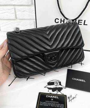 Сумка Chanel Chevron So Black
