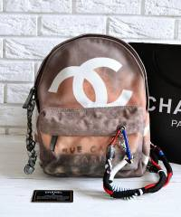 Рюкзак Шанель Graffiti Backpack Large