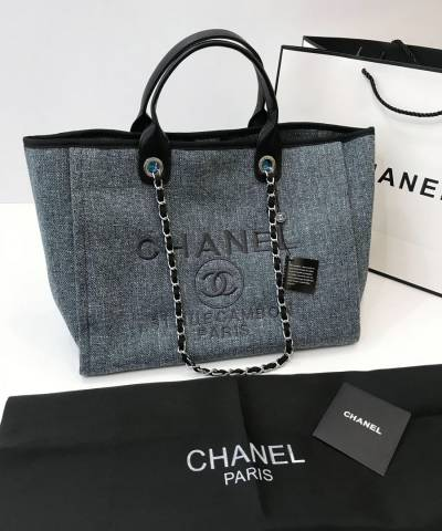 Сумка Сhan*l Deauville Rue Cambon Tweed Bag