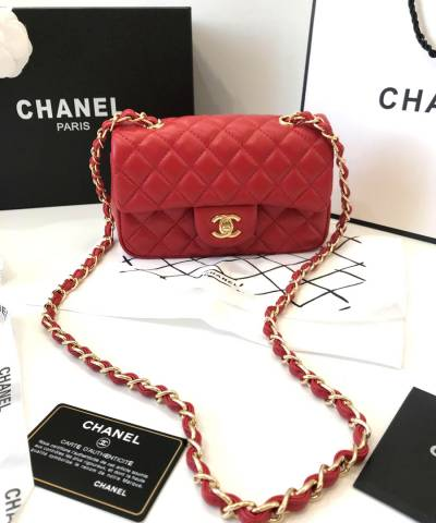 Сумка Сhan**l Small Flap Red Bag