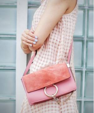 Сумка Chloe Faye Cross-Body Bag Pink