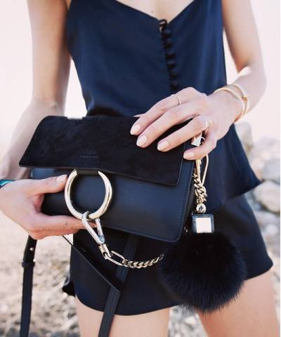 Сумка Chloe Faye Cross-Body Bag Black