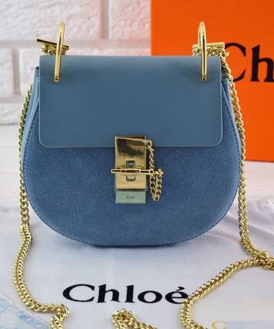 Сумка Chloe Drew Mini Blue