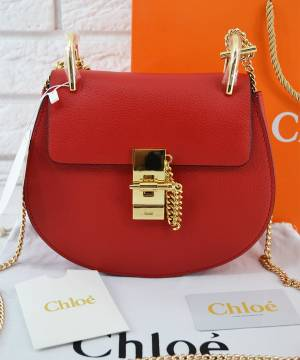 Сумка Chloe Drew Mini Red