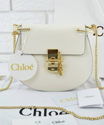 Сумка Chloe Drew Mini White