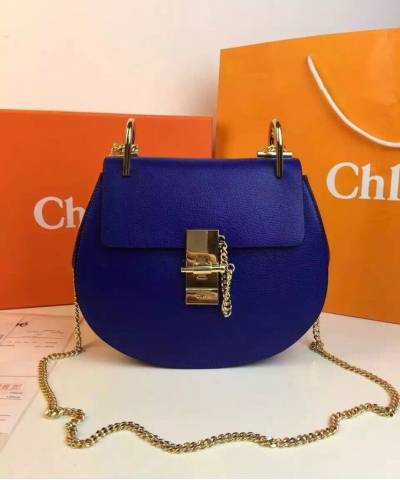 Сумка Chloe Drew Mini Royal Blue