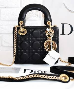Сумка Lady Dior Mini With Chain ... d20b5c1391116