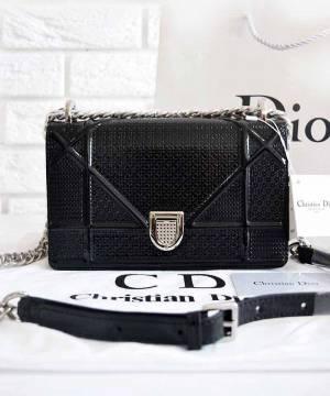 Сумка Dior Diorama Black Medium