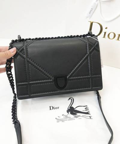 Сумка Dior Diorama Studded All Black