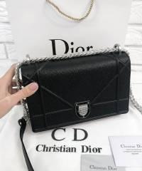 Сумка Dior Diorama Caviar Black