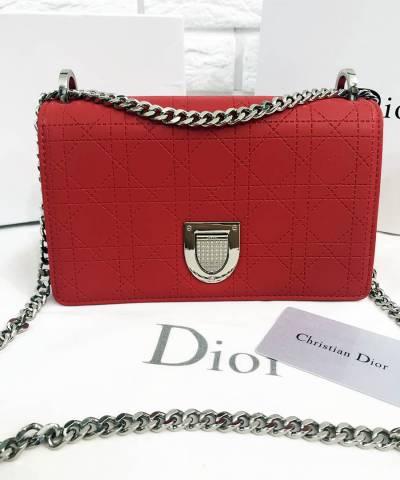 Сумка Dior Diorama Bag Red