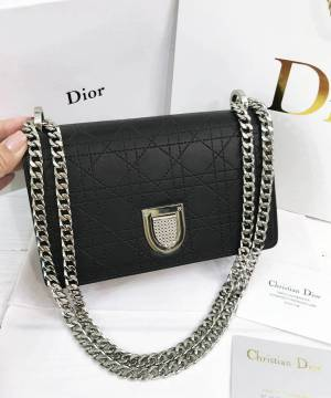 Сумка Dior Diorama Bag Black