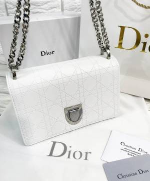 Сумка Dior Diorama Bag White