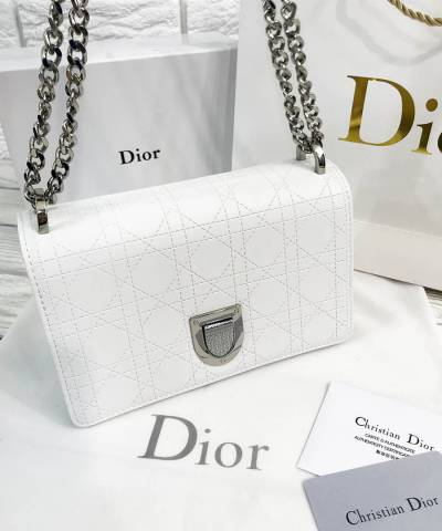 Сумка Dior Diorama Bag White
