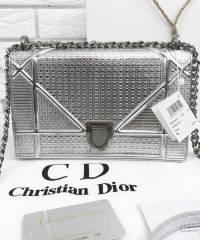 Сумка Dior Diorama Silver Large