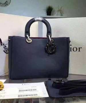 Сумка Dior Diorissimo Dark Blue Medium