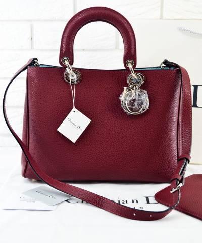 Сумка Dior Diorissimo Marsala Medium