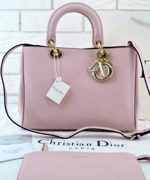 Сумка Dior Diorissimo Pink Medium