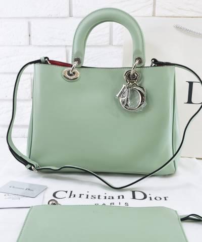 Сумка Dior Diorissimo Mint Medium