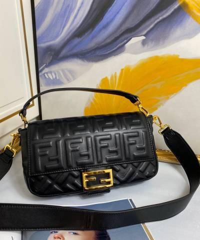Сумка Fendi Baguette Black Bag
