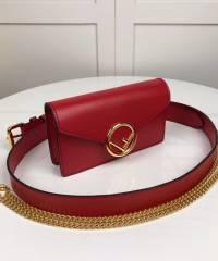 Сумка Fendi FF Logo Belt Bag Red