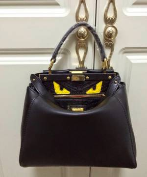 Сумка Fendi Peekaboo Medium Black