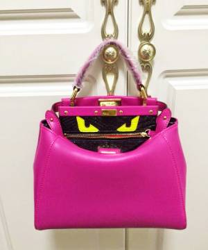 Сумка Fendi Peekaboo Medium Rose