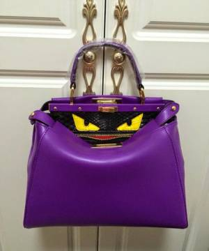 Сумка Fendi Peekaboo Medium Violet