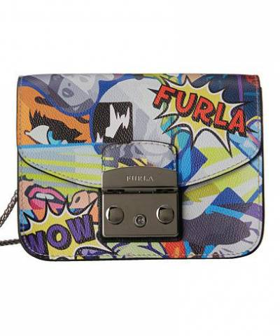 Сумка Фурла Metropolis Graffiti Mini Crossbody