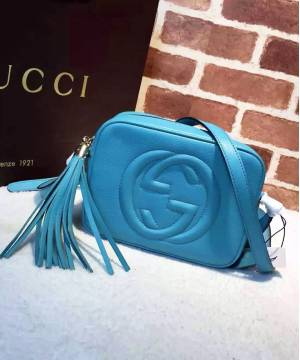 Сумка Gucci Soho Disco Blue Bag