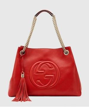 Сумка Gucci Soho Tote Red Bag