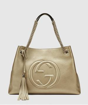 Сумка Gucci Soho Tote Gold Bag