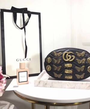 Сумка Gucci Marmont Animal Studs Belt Bag