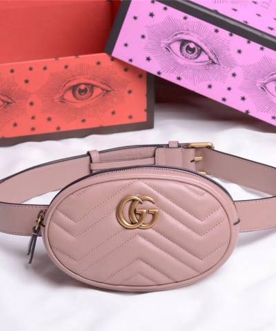 Сумка Gucci Marmont Belt Bag Pink