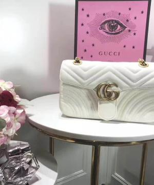 Сумка Gucci GG Marmont Small Bag White