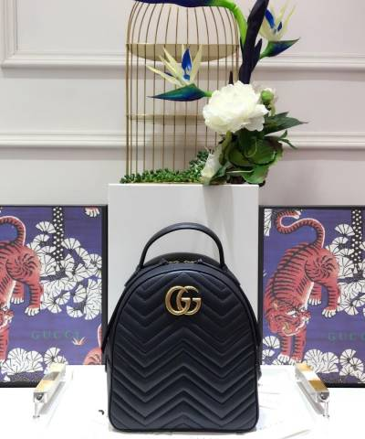 Рюкзак Gucci GG Marmont Quilted Leather Backpack