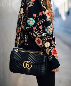 Сумка Gucci GG Marmont Medium Shoulder Bag