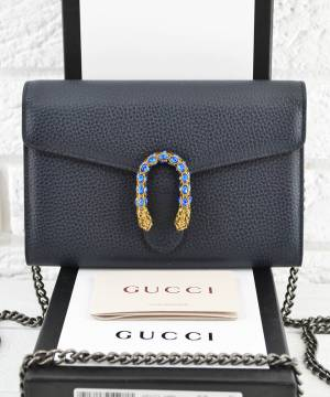 Клатч Gucci Dionysus Mini Chain Bag Dark Blue