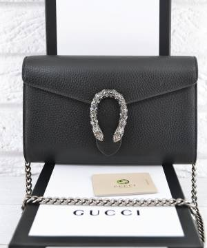 Клатч Gucci Dionysus Mini Chain Bag Black